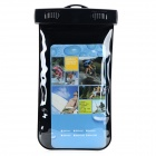 Protective Waterproof Bag w/ Strap / Armband for Samsung Note2 / Iphone 4 / 4s / 5 - Black