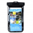 Multifunction Protective Waterproof Bag w/ Strap for Samsung Note2 / Iphone 4 / 4s / 5 - Black