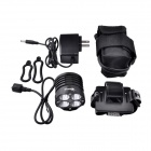 "SolarStorm XT40 4 LED ""3300lm\"" 4-Mode White Bike Light - Noir (4 x 18650)"