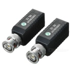 CCTV via Cat-5 Twisted Pair Video Balun Transceivers (Pair)
