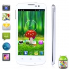 "Utime U100s MTK6582 Android 4.2 Quad-Core WCDMA Bar Phone w/ 4.6"", Wi-Fi, GPS - White"