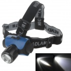 Cree XP-E Q5 180-Lumen 2-Mode Chargeable White Light LED Headlamp - Blue + Black