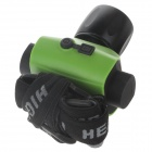 180lm Phare rechargeable blanc 2 modes - vert + noir (1 x 18650)
