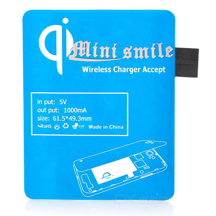 ZY-409 Wireless Charging Receiver for Samsung Galaxy S3 i9300 - Blue zy hrc60 s