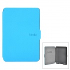 Ultrathin Protective PU Leather Case w/ Auto Sleep for Kindle Paperwhite - Sky Blue