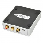 USB 2.0 HD Salut-Fi 96kHz / 24-bit asynchrone Audio DAC Sound Card - Argent