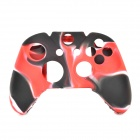 Protective Silicone Case for XBOX One Controller - Black + Red