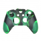 Protective Silicone Case for XBOX One Controller - Grass Green + Black