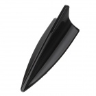 SF-173 Shark Fin Style Plastic Decorative Car Antenna - Black