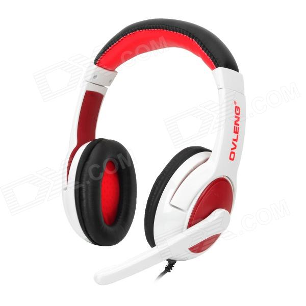 OVLENG Q9 Stylish Headphones w/ Microphone / Cable Control (USB Plug / 195cm)