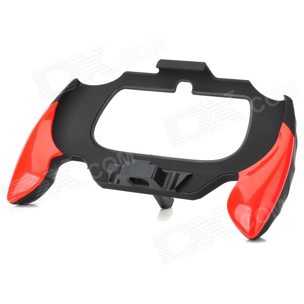 Host Hand Grip / Stand for PS Vita 2000 - Bright Red + Black compatible ec jc900 001 for acer qnx1020 qwx1026 ps w11k ps x11k ps x11 s5201 s5201b s5201m s5301wb t111e t121e projector lamp