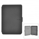 Ultrathin Protective PU Leather Case w/ Auto Sleep for Kindle Paperwhite - Black