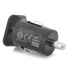 WidePath Dual-USB voiture allume cigare Power Adapter - Noir (12 ~ 24V)