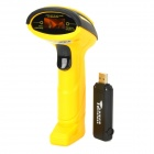 XX-688 Intelligent Voice Wireless Laser Scanning Gun - Yellow