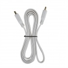 HDMI v1.4 Male to Male Flat Data Connection Cable - White (152cm)