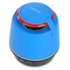 Tmusik R10 Mini Portable Super Bass Bluetooth V2.1 Speakers w/ TF / NFC - Blue + Red