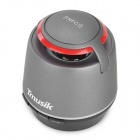 Tmusik R10 Mini Portable Super Bass Bluetooth V2.1 Speakers w/ TF / NFC - Grey