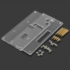 Acrylic + Copper DIY Assembling Case Plates for pcDuino / Arduino - Transparent