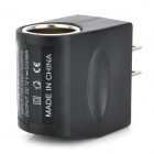 Universal AC to 12V Car Cigarette Lighter Power Adapter