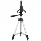 Retractable TrIpod Mount Stand w/ Gradienter for Ipad - Silver Black