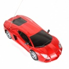922-1 2-Channel 27MHz Remote Control Car - Red + Black