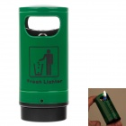Trash Style High Quality Windproof Butane Lighter - Green
