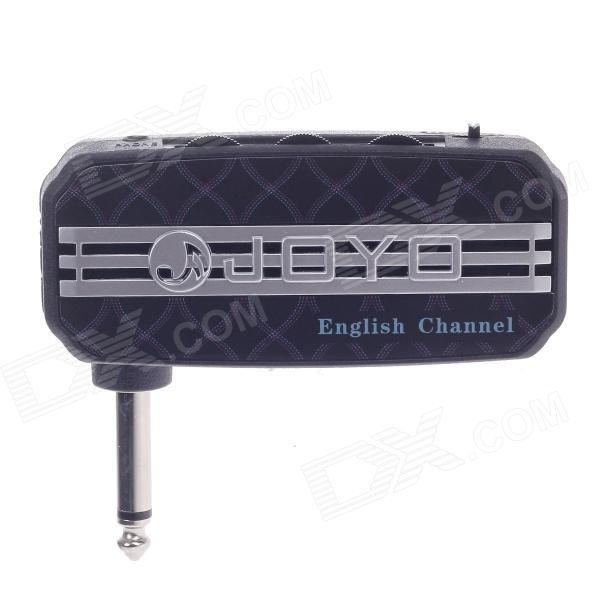 JOYO JA-03 English Channel Mini Guitar Amplifier - Black (2 x AAA) joyo ja 03 mini guitar amplifier with metal sound effect