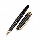 High-End Commercial 0.5mm Gel Ink Pen - Black + Golden