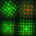 Multiple Pattern 50mW Green + 100mW Red Laser Stage Lighting Projector