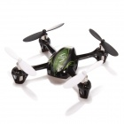 Mini 4-CH 2.4G Radio Control Quadcopter R/C Flying Saucer - Black