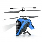 2-CH Course light IR Remote Control ABS R/C Helicopter - Black + Blue