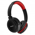 DAZA D110 Stereo Wireless Headphones MP3 Player w/ TF / FM - Black + Red