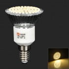 LeXing LX-035 E14 4W 300lm 3500K 80-SMD 3528 LED Warm White Spotlight Bulb (220~240V)