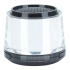 CX-A16 Silver Light Digital Speakers w/ USB/ TF/ FM - Black + Blue