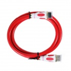 ULT-unite 4412-11105 HDMI v1.4  Male to Male Display Cable - Rad + White (1m)