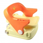 Baby Adjustable Safety Dinning Chair - Orange + Yellow (6~12 Months)