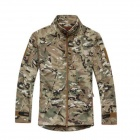 ESDY ESDY-0107 Commander Outdoor Sports Waterproof Warm Polyester Jacket for Men - Camouflage (XXL)