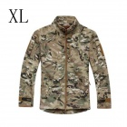 ESDY ESDY-0107 Commander Outdoor Sports Waterproof Warm Polyester Jacket for Men - Camouflage (XL)