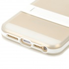 Protection TPU boîte arrière w / Stand pour Iphone 5 / 5 s - blanc