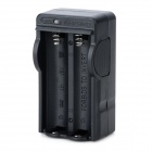 UltraFire UF-12 4.2V 600A 2-18650 Li-ion Battery Charger - Black + White (100~240V)