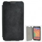 KALAIDENG England Series Protective PU Leather Case for Samsung Galaxy Note 3 N9000 - Black