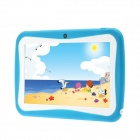 "iRulu 7"" Android 4.0 Tablet PC w/ 512MB RAM, 4GB ROM, Dual-Camera, PU Leather Keyboard for Kids"