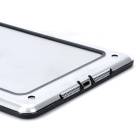 Protective ABS + Silicone Bumper Frame for Ipad MINI / Retina Ipad  Mini - Black + Translucent White