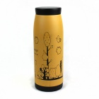 Bachelor Stainless steel Cup - Khaki + Black (500mL)