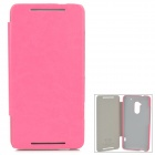 KALAIDENG England Series Protective PU Leather Case for HTC One Max 8088 - Deep Pink