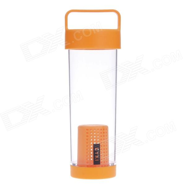 EYKI H5020 High-quality Leak-proof Bottle w/ Filter - Orange (400mL)