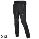 Outto Waterproof Casual Sport Polyester Pants for Men - Grey + Black + Multicolored (XXL)