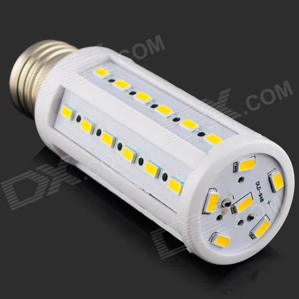 E27 9W 820lm 3000K 42 x SMD 5630 LED Warm White Corn Light Lamp - (AC 220~240V)
