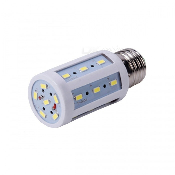 E27 5W 450lm 6500K 24 x SMD 5050 LED White Light Corn Light Lamp - (AC 220~240V)
