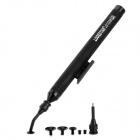 LODESTAR L611938 Aluminum Alloy + PVC + Silicone Vacuum Sucking Pen for SMD COmponents - Black